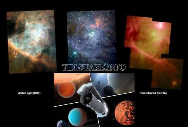 Hình ảnh vũ trụ và quan sát được qua kính thiên văn Spitzer của NASA