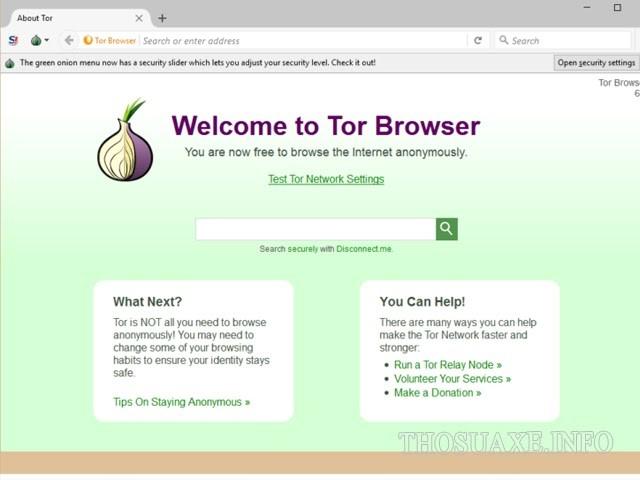 Trình duyệt Tor giúp bạn truy cập vào Deep web