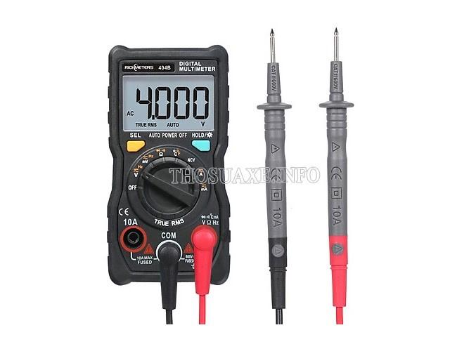 Đồng hồ vạn năng giúp ta có thể đo được nhiều thông số của dòng điện trong đó có điện áp