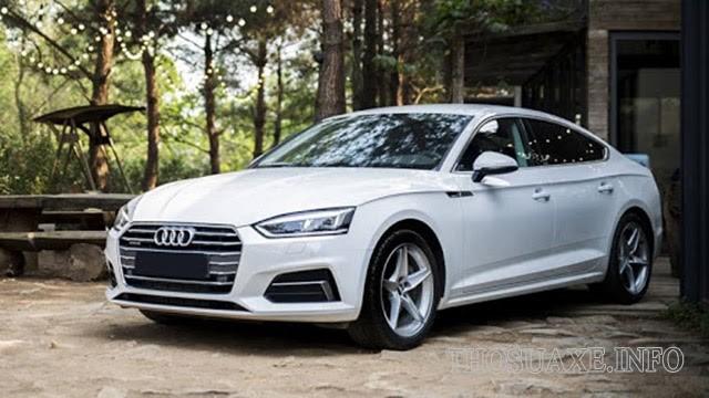 Audi A5 - một trong các dòng xe của Audi kích thước nhỏ gọn