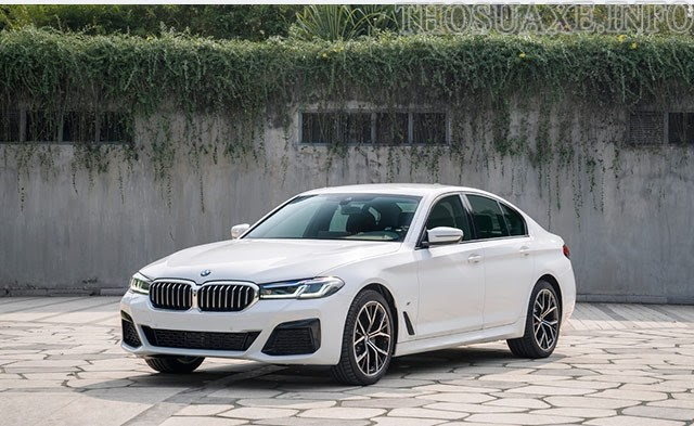 BMW Series 5 mạnh mẽ và tiết kiệm nhiên liệu