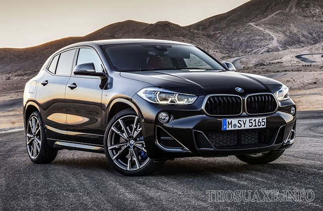 BMW X2 sở hữu thiết kế mang tính đột phá nhất của dòng BMW X