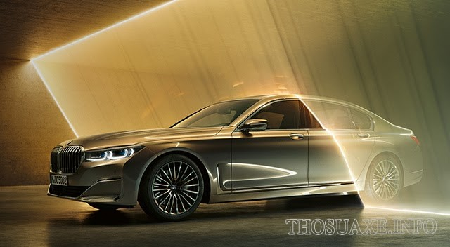 BMW series 7 trọng lượng nhẹ, sang trọng và đẳng cấp