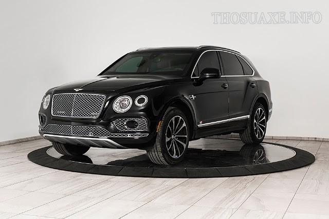 Bentley Bentayga phiên bản bọc thép