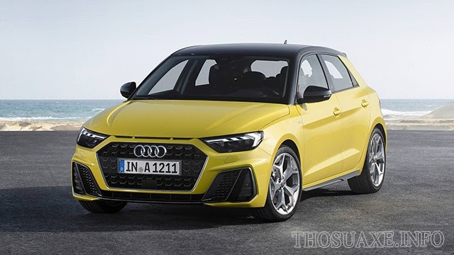 Các dòng xe Audi A1 có thiết kế tương đối nhỏ gọn