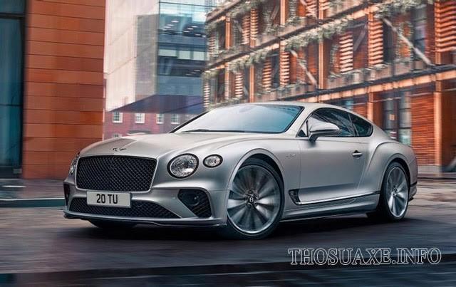 Các dòng xe Bentley Continental GT Speed sở hữu nhiều tiện ích hiện đại