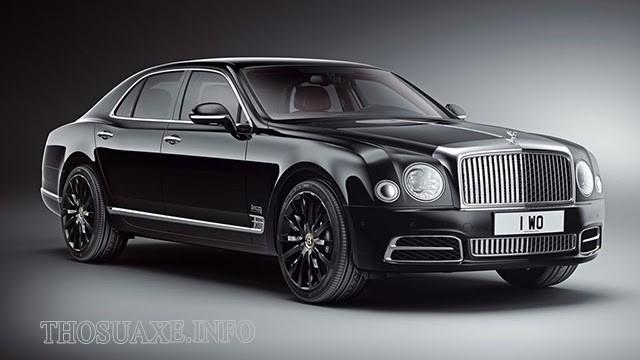 Các dòng xe Bentley Mulsanne lịch lãm, thời thượng