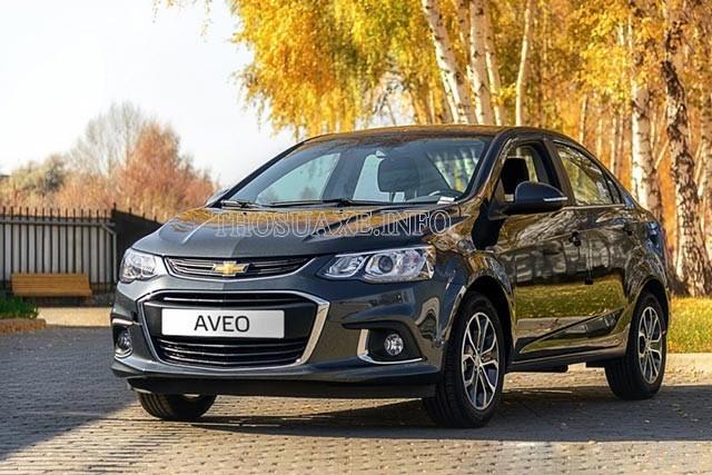 Chevrolet Aveo thuộc phân khúc sedan cỡ nhỏ giá rẻ của hãng