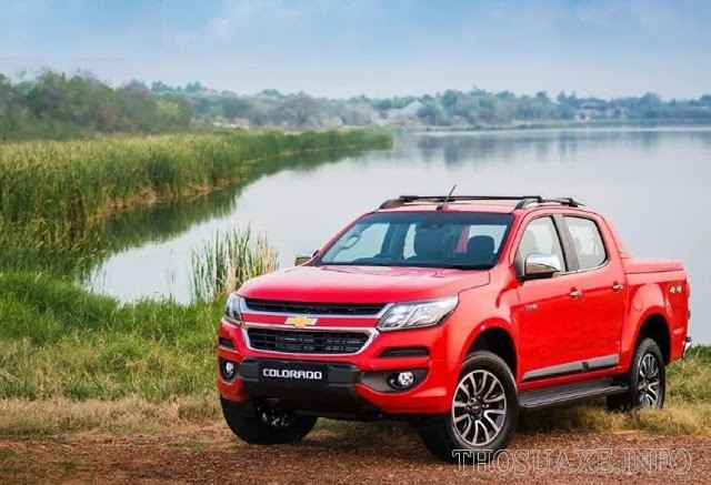 Chevrolet Colorado mạnh mẽ, vận hành cực tốt
