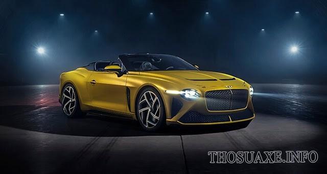 Mẫu siêu xe mui trần giới hạn của thương hiệu đình đám Bentley