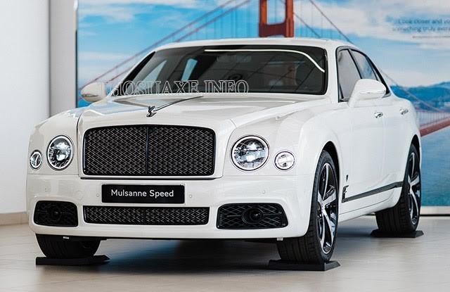 Mẫu xe Bentley mang nét cổ điển của xe hơi thế kỷ trước