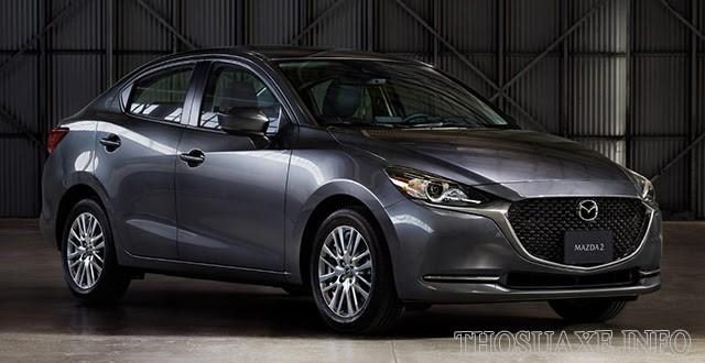 Mẫu xe Mazda 2 thời trang và năng động