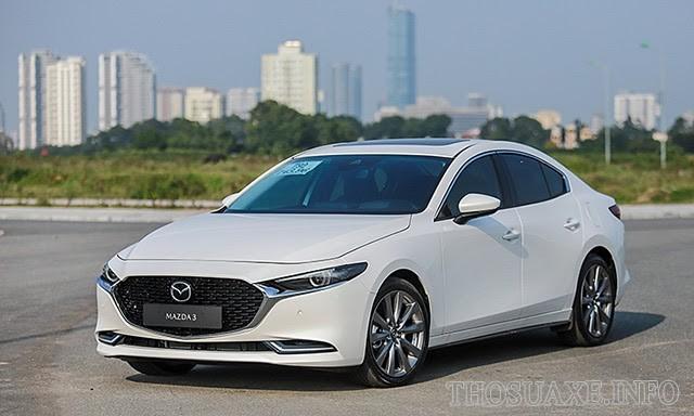 Mẫu xe Mazda 3 nổi bật với nhiều tính năng hiện đại