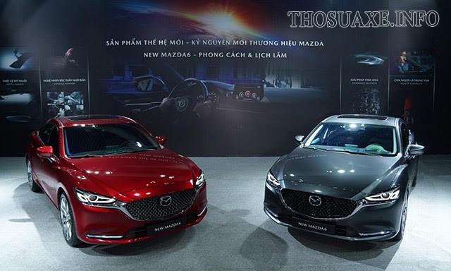 Mẫu xe Mazda 6