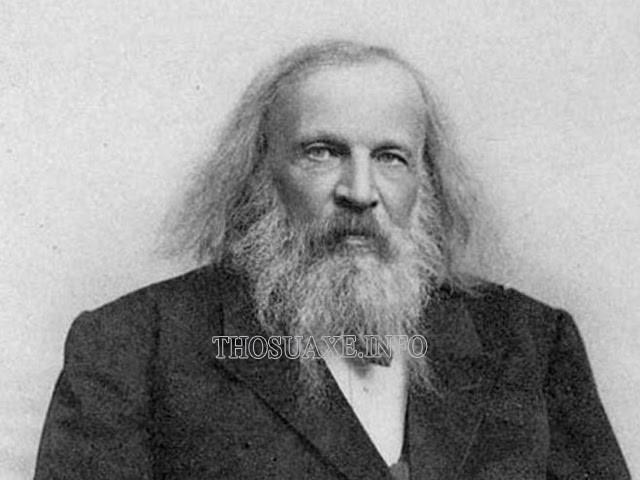 Nhà hóa học Dmitri Mendeleev