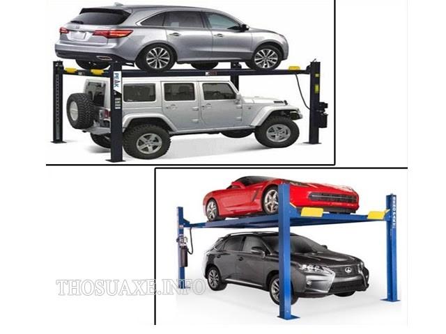 Sản phẩm dùng để làm nơi giữ xe 2 tầng