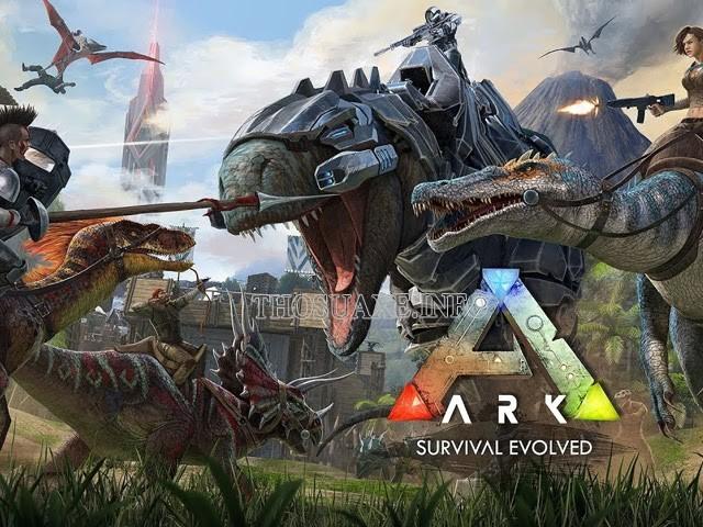 Tựa game ARK: Survival Evolved