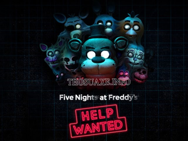 Tựa game Five Nights at Freddy's Help Wanted