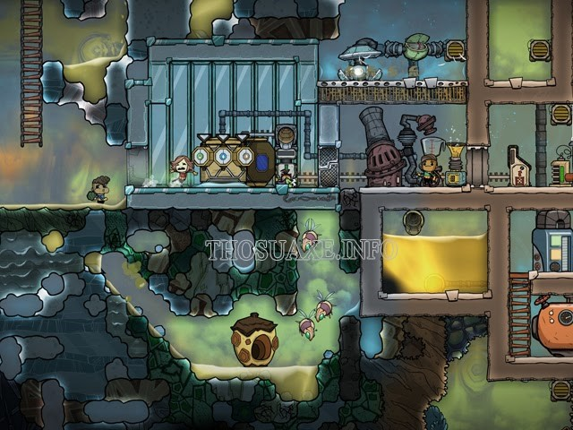 Tựa game Oxygen Not Included