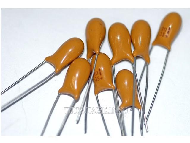 Thiết kế thông dụng của tụ điện phân cực