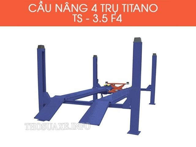 Titano TS - 3.5 F4 được khách hàng yêu thích