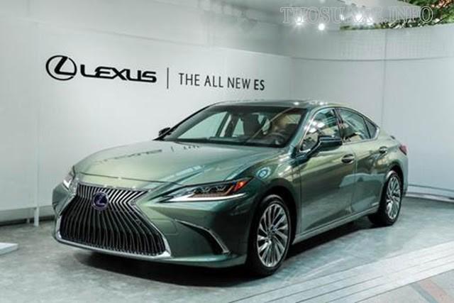 Các dòng xe Lexus ES sang trọng, an toàn và tiết kiệm nhiên liệu