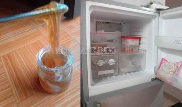 Cho mật ong vào ngăn đá tủ lạnh để nhận biết mật thật