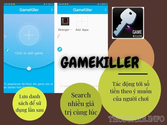 Gamekiller hoạt động theo cách thức cực kỳ đơn giản