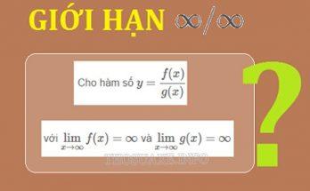 Giới hạn vô hạn của hàm số