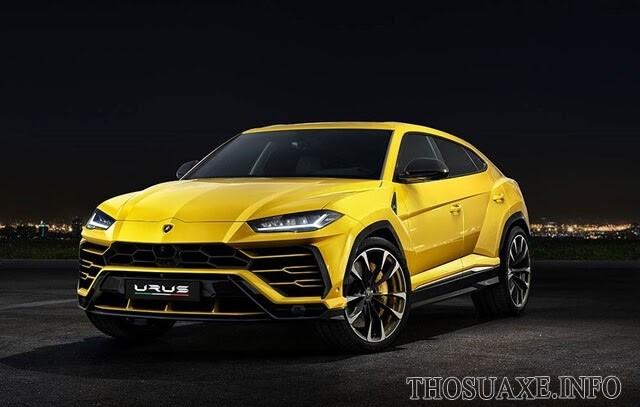 Lamborghini Urus - siêu xe SUV sang trọng và mạnh mẽ