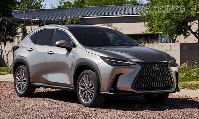 Lexus NX dành cho những khách hàng trẻ với tư tưởng phóng khoáng