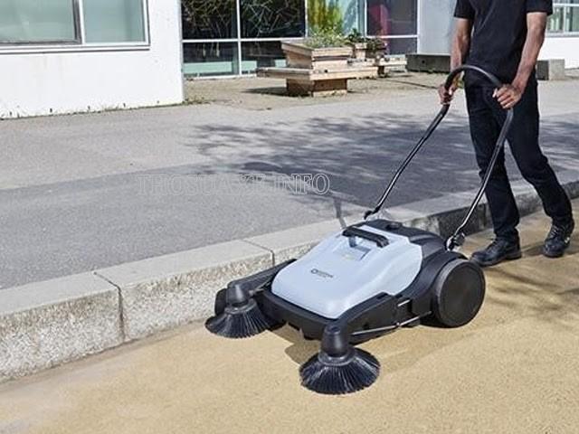 Loại xe quét đường mini có thiết kế xe đẩy