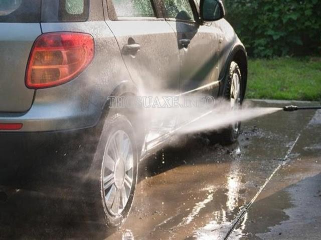 Máy rửa xe chuyên nghiệp có thể ứng dụng vào nhiều lĩnh vực khác ngoài vệ sinh xe cộ