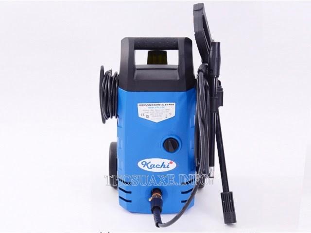 Máy rửa xe gia đình có thông số kỹ thuật phù hợp với nhu cầu sử dụng trong gia đình