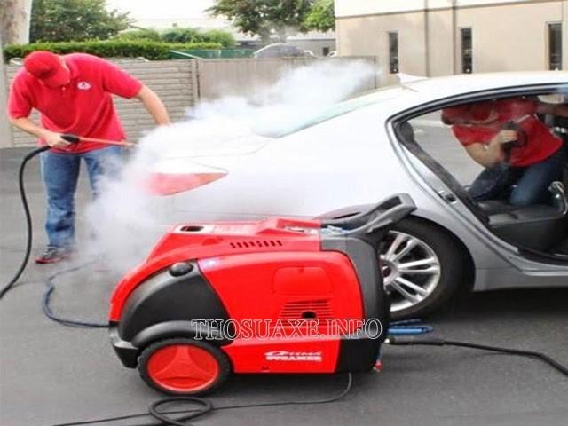 Máy rửa xe nước nóng đem lại hiệu quả làm sạch vô cùng ấn tượng