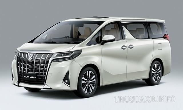 Mẫu xe Toyota Alphard
