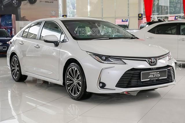 Mẫu xe Toyota Corolla Altis