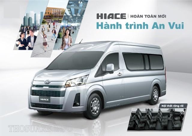 Mẫu xe Toyota Hiace