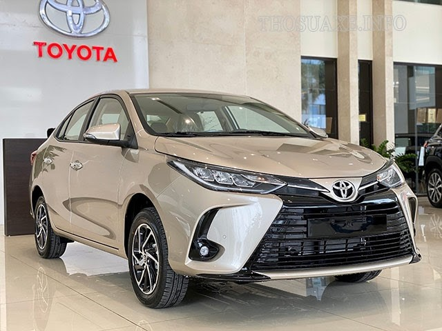 Mẫu xe Toyota Vios