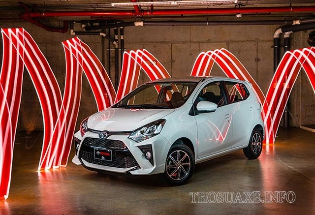 Mẫu xe Toyota Wigo