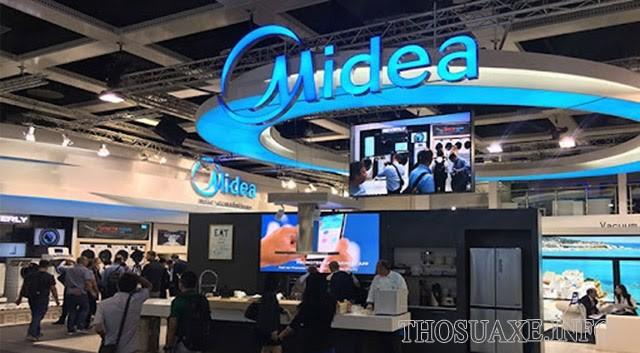 Midea là thương hiệu thiết bị gia dụng hàng đầu của Trung Quốc