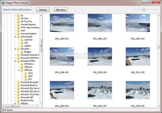 Phần mềm đọc file ảnh Happy Photo Viewer