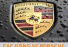 Tổng hợp các dòng xe Porsche