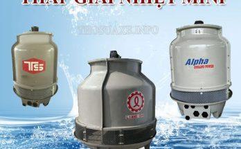 Tháp giảm nhiệt nước mini có mang lại nhiều lợi ích cho doanh nghiệp