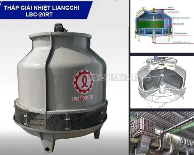 Tháp làm lạnh nước Liang Chi 20RT