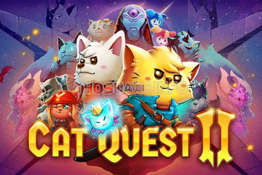 Game cho iPhone hay Cat Quest