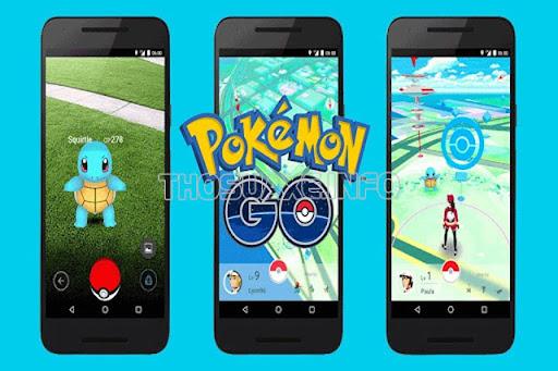 Pokémo là game dành cho iPhone mà nhiều người thích thú