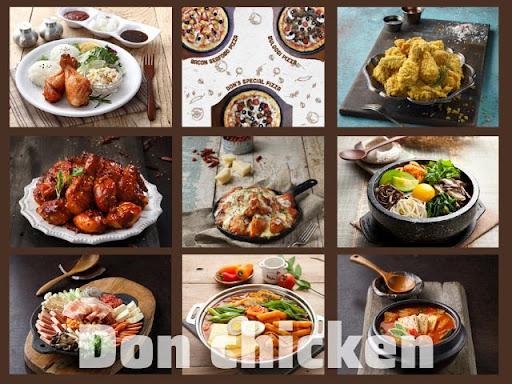 Thực đơn hấp dẫn tại Don Chicken