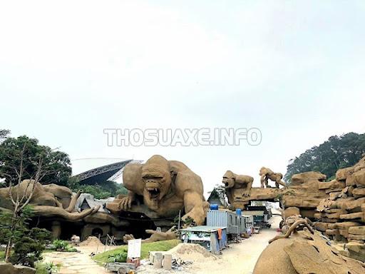 Vẻ đẹp mới lạ, độc đáo của công viên điêu khắc Tuần Châu giúp thu hút nhiều du khách