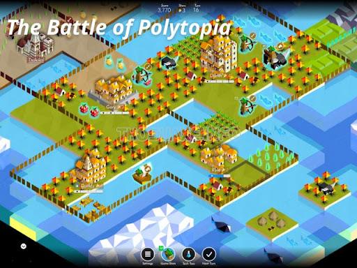 """Tiến hành khai hoang và """"chiếm đóng"""" để xây dựng thành phố trong The Battle of Polytopia"""